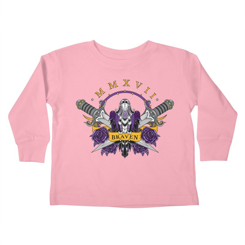 Nevermind the Braven Kids Toddler Longsleeve T-Shirt by thebraven's Artist Shop