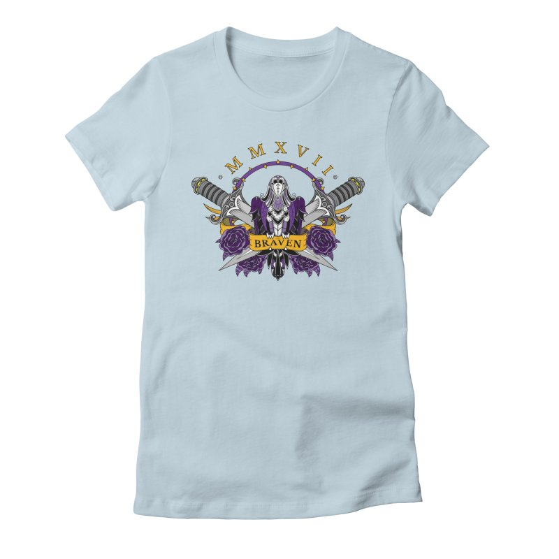 Nevermind the Braven Women's Fitted T-Shirt by thebraven's Artist Shop