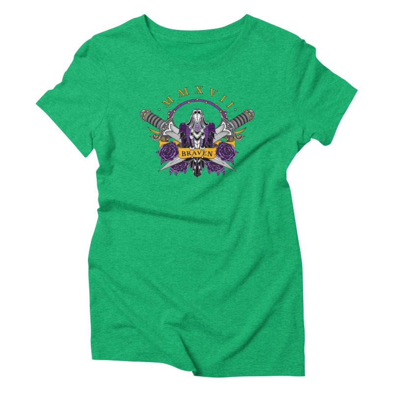 Nevermind the Braven Women's Triblend T-Shirt by thebraven's Artist Shop