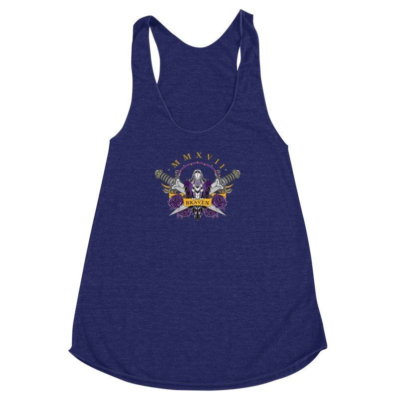 Nevermind the Braven Women's Racerback Triblend Tank by thebraven's Artist Shop