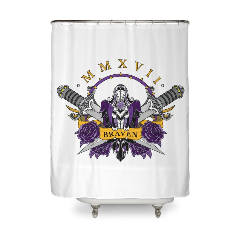 Nevermind the Braven Home Shower Curtain by thebraven's Artist Shop