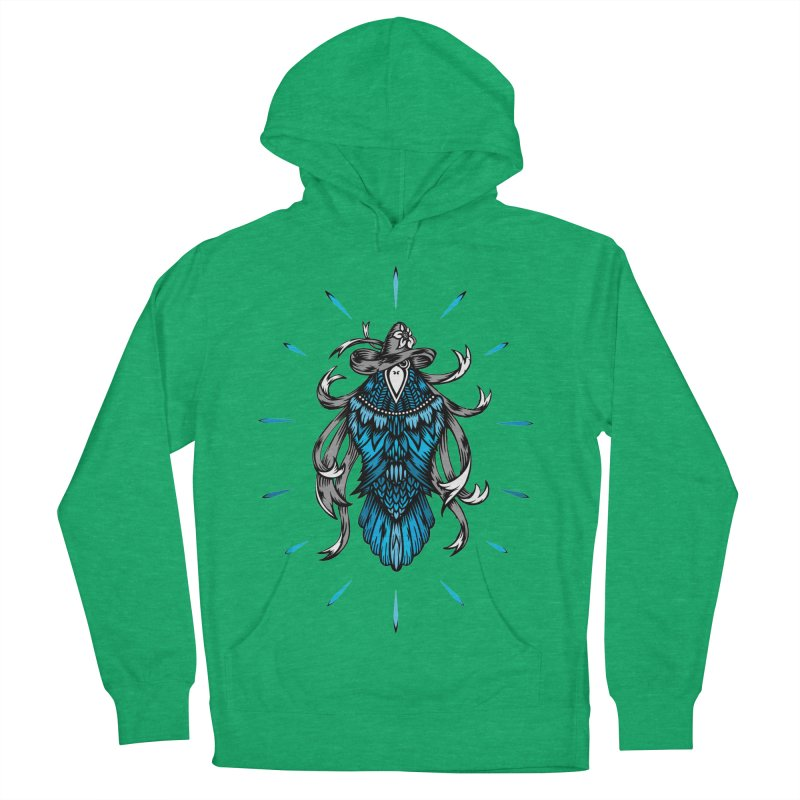 Shine bright like a Raven Women's Pullover Hoody by thebraven's Artist Shop