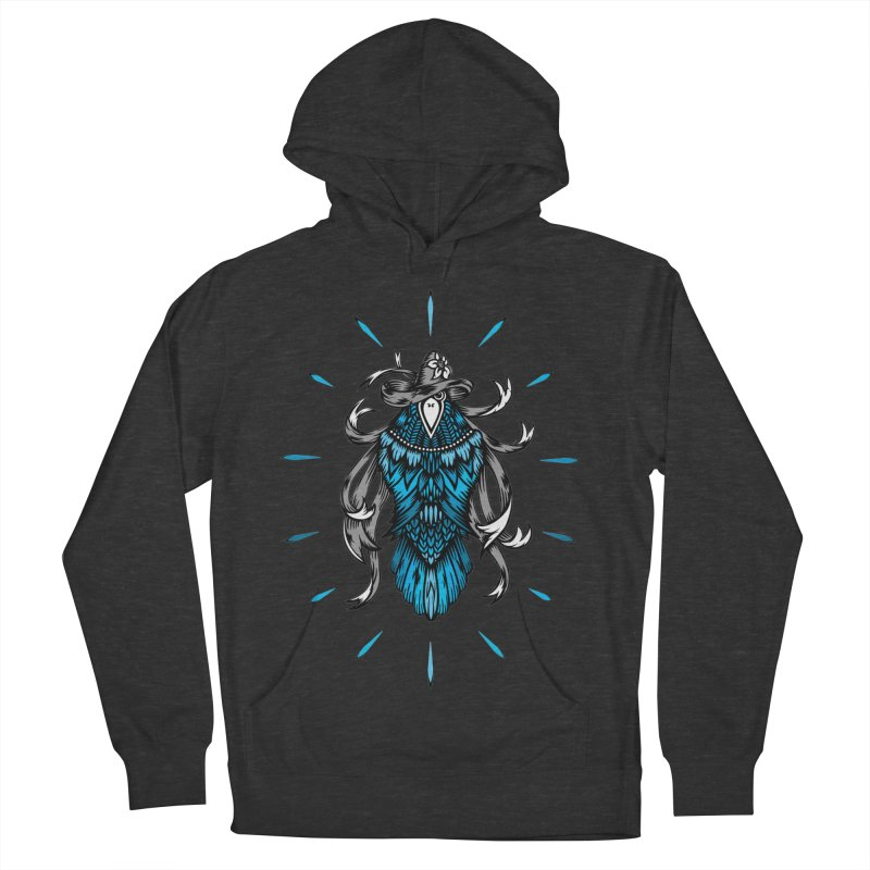 Shine bright like a Raven Women's French Terry Pullover Hoody by thebraven's Artist Shop