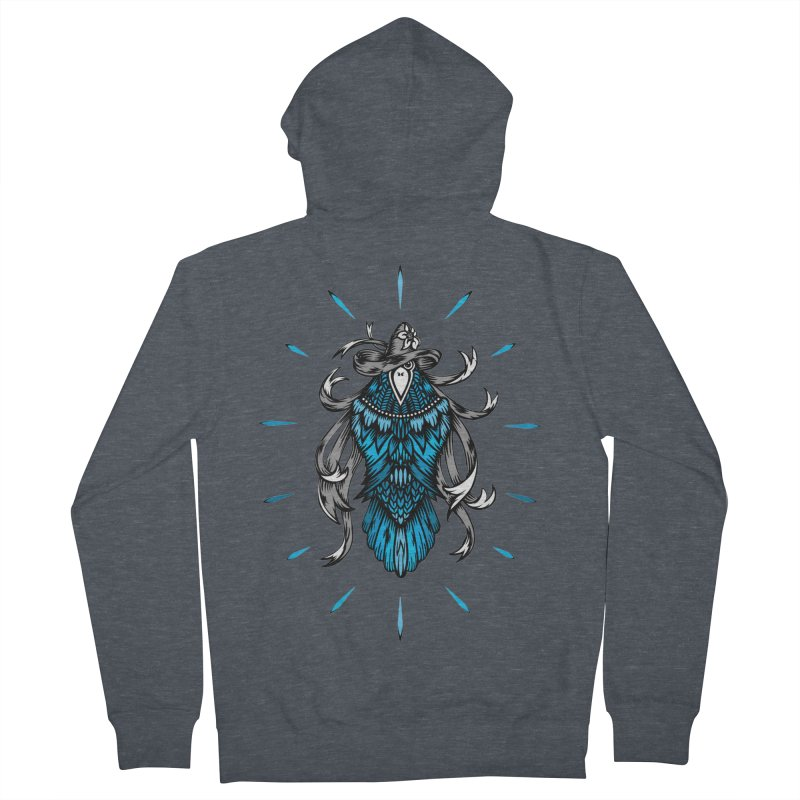 Shine bright like a Raven Women's Zip-Up Hoody by thebraven's Artist Shop