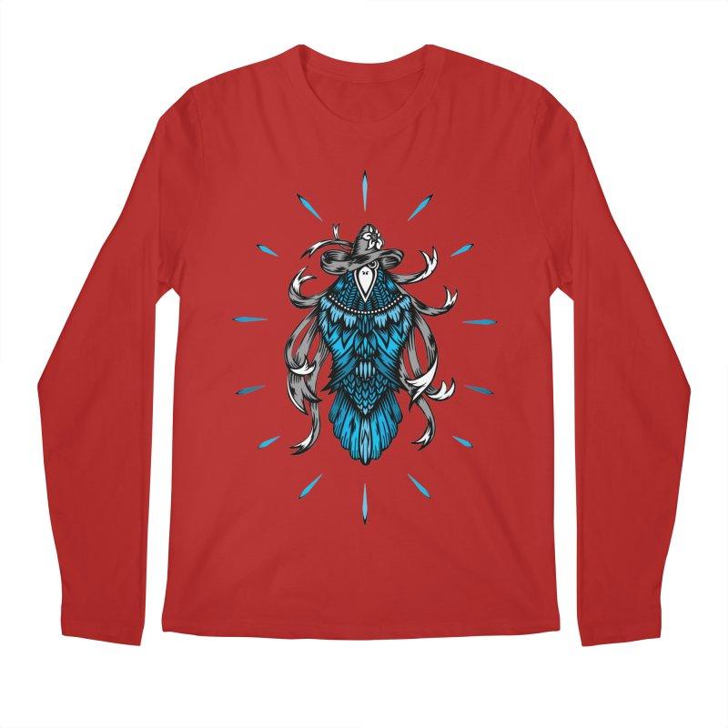 Shine bright like a Raven Men's Longsleeve T-Shirt by thebraven's Artist Shop