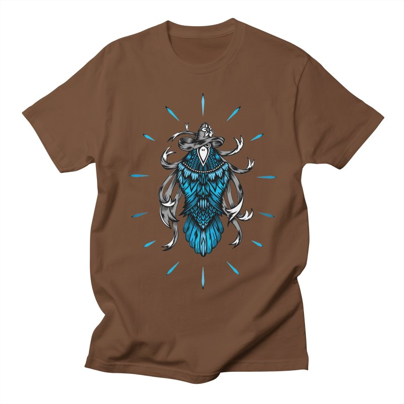 Shine bright like a Raven Men's Regular T-Shirt by thebraven's Artist Shop