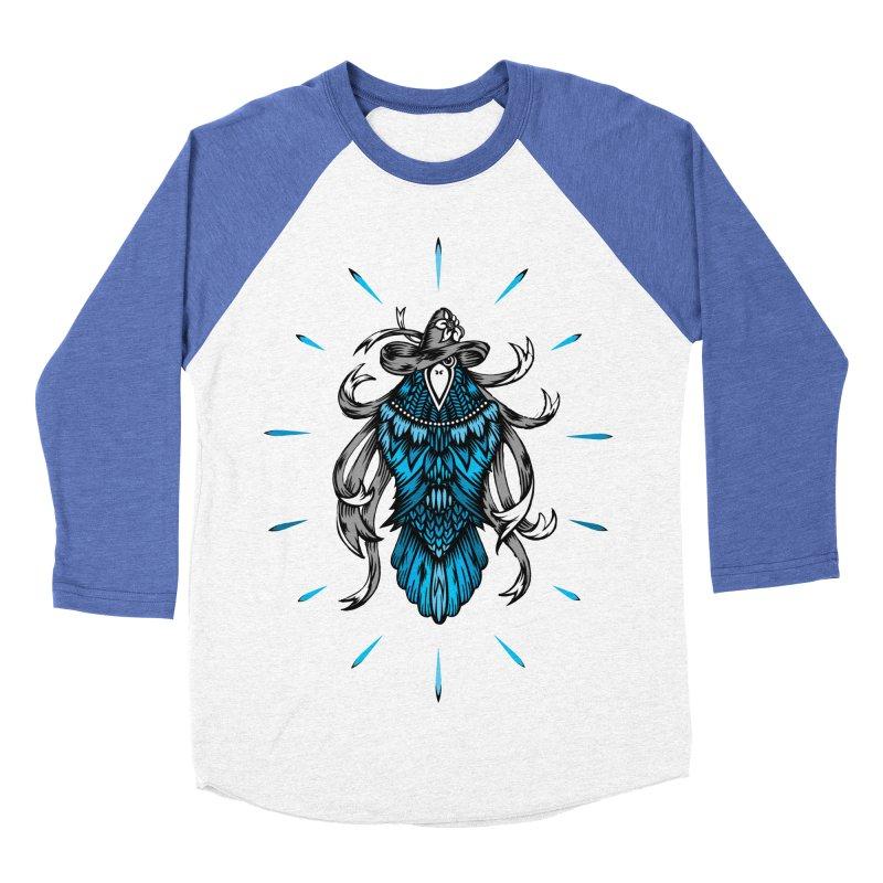 Shine bright like a Raven Men's Baseball Triblend T-Shirt by thebraven's Artist Shop