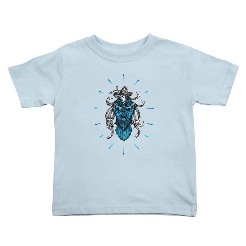 Shine bright like a Raven Kids Toddler T-Shirt by thebraven's Artist Shop