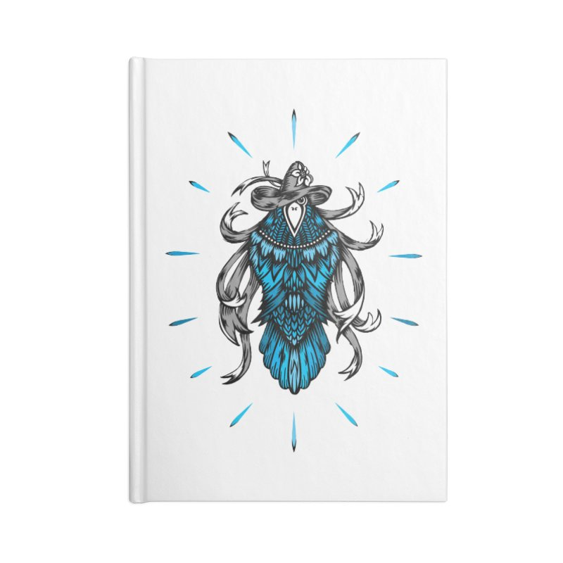 Shine bright like a Raven Accessories Notebook by thebraven's Artist Shop