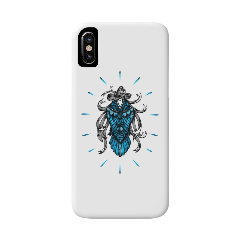 Shine bright like a Raven Accessories Phone Case by thebraven's Artist Shop