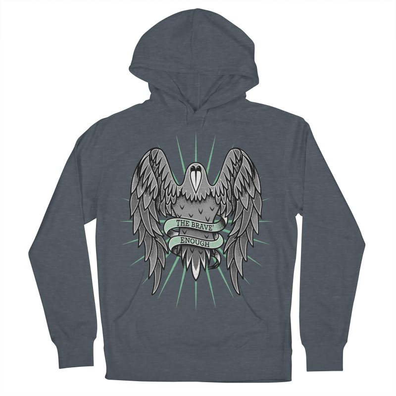 Brave' the Rave' Women's French Terry Pullover Hoody by thebraven's Artist Shop