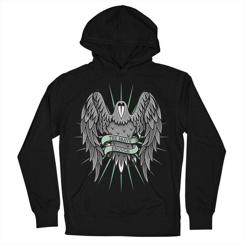 Brave' the Rave' Men's French Terry Pullover Hoody by thebraven's Artist Shop