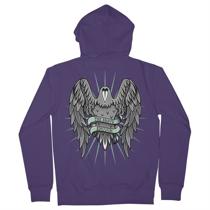 Brave' the Rave' Women's Zip-Up Hoody by thebraven's Artist Shop