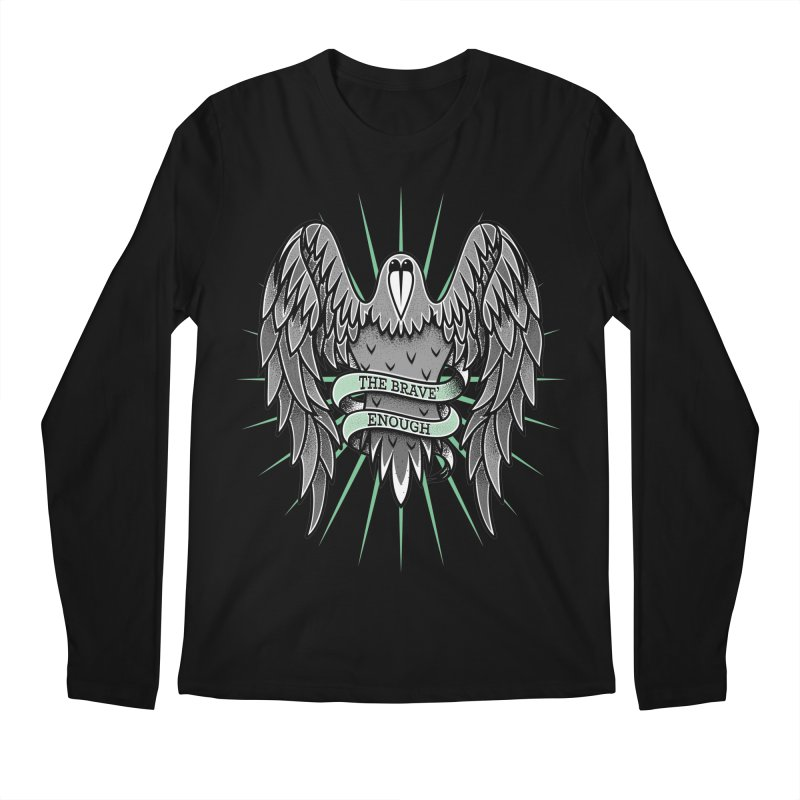 Brave' the Rave' Men's Longsleeve T-Shirt by thebraven's Artist Shop