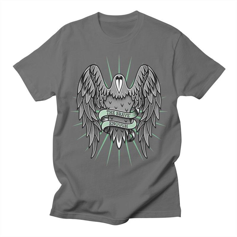 Brave' the Rave' Men's T-shirt by thebraven's Artist Shop