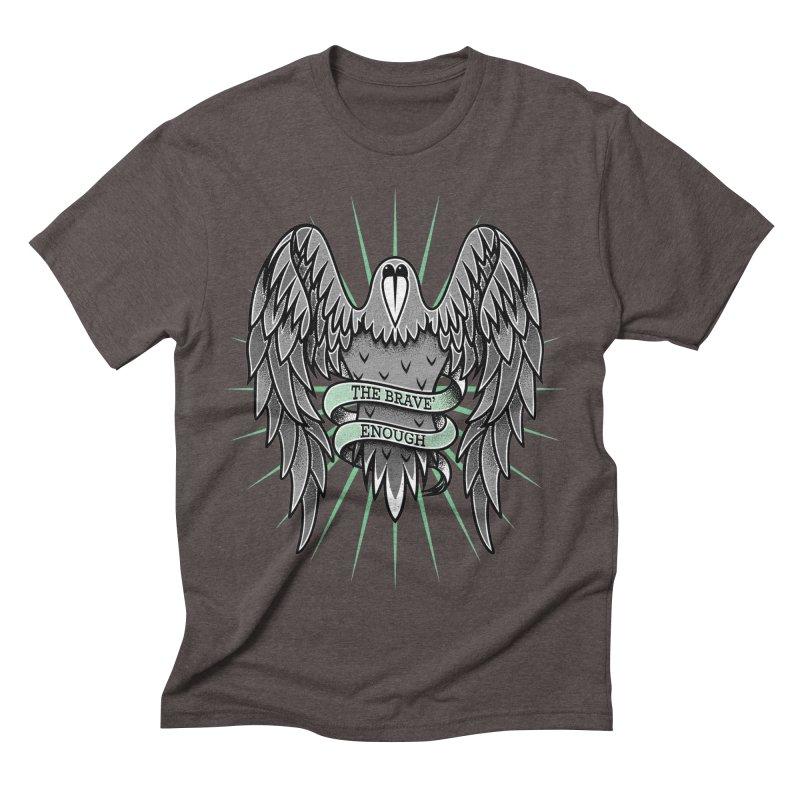 Brave' the Rave' Men's Triblend T-Shirt by thebraven's Artist Shop