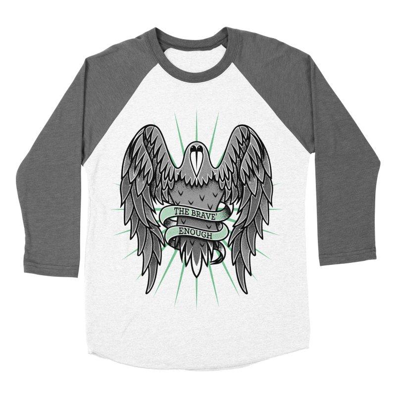 Brave' the Rave' Men's Baseball Triblend T-Shirt by thebraven's Artist Shop
