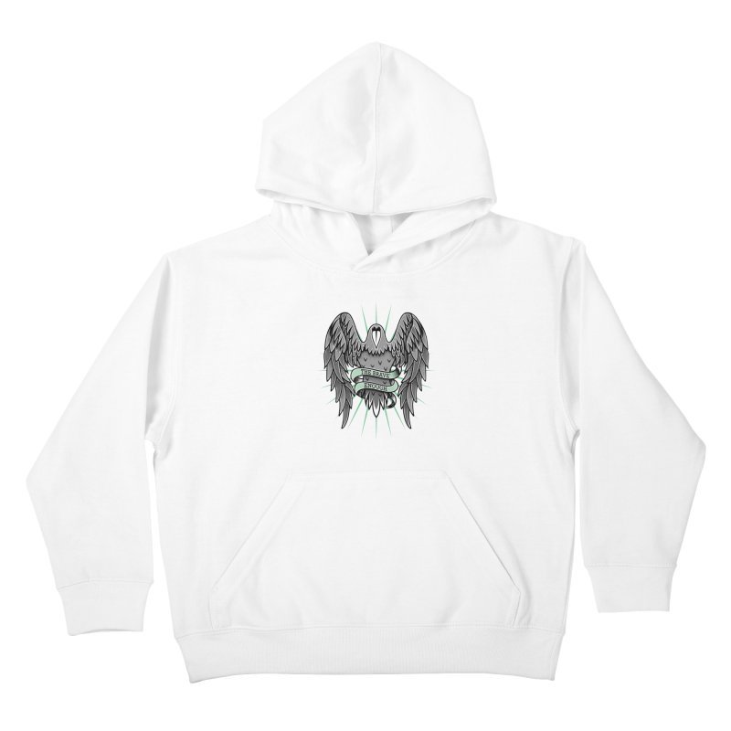 Brave' the Rave' Kids Pullover Hoody by thebraven's Artist Shop