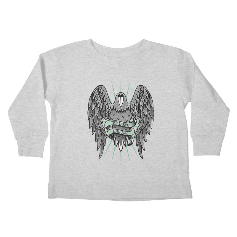 Brave' the Rave' Kids Toddler Longsleeve T-Shirt by thebraven's Artist Shop