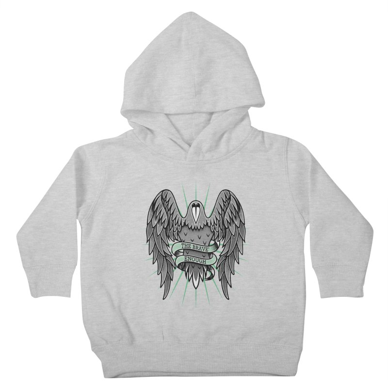 Brave' the Rave' Kids Toddler Pullover Hoody by thebraven's Artist Shop