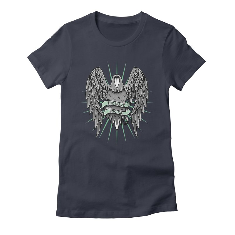 Brave' the Rave' Women's Fitted T-Shirt by thebraven's Artist Shop