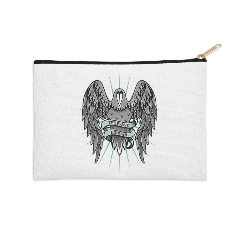 Brave' the Rave' Accessories Zip Pouch by thebraven's Artist Shop