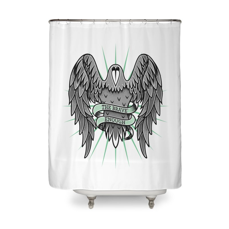 Brave' the Rave' Home Shower Curtain by thebraven's Artist Shop
