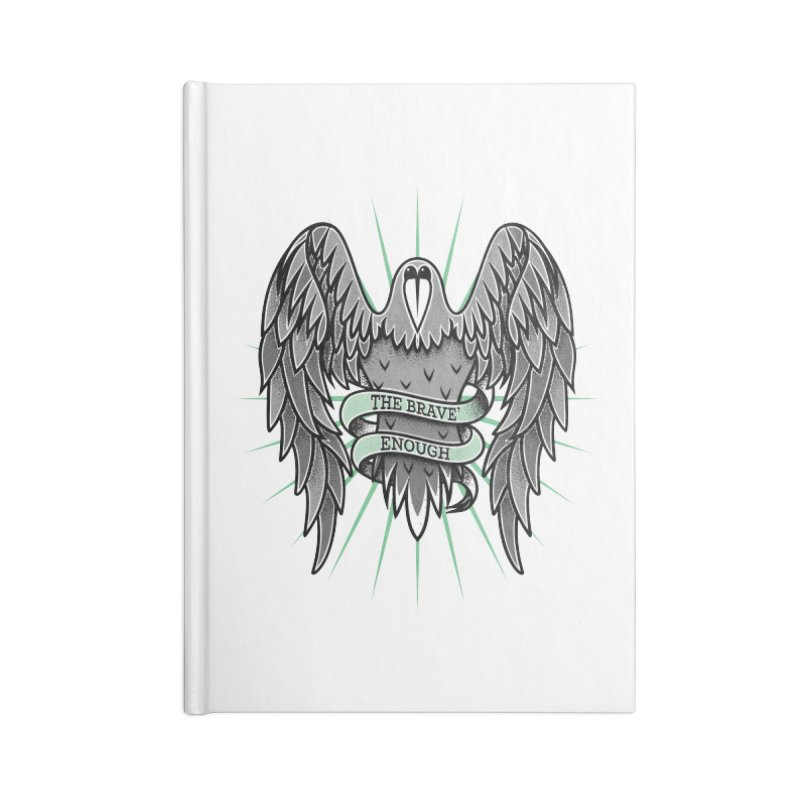 Brave' the Rave' Accessories Notebook by thebraven's Artist Shop