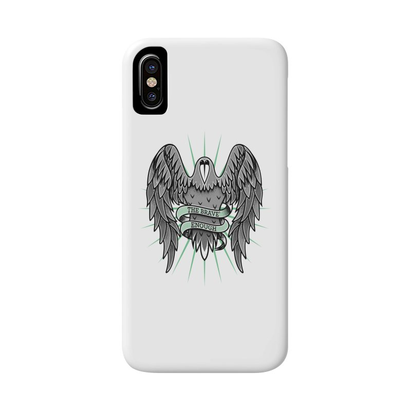 Brave' the Rave' Accessories Phone Case by thebraven's Artist Shop