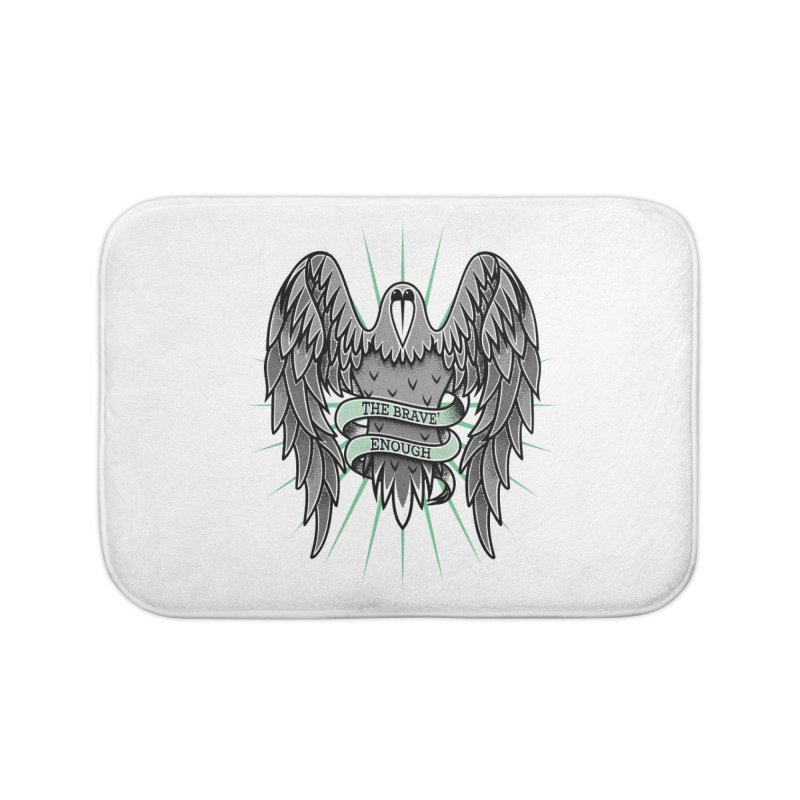 Brave' the Rave' Home Bath Mat by thebraven's Artist Shop