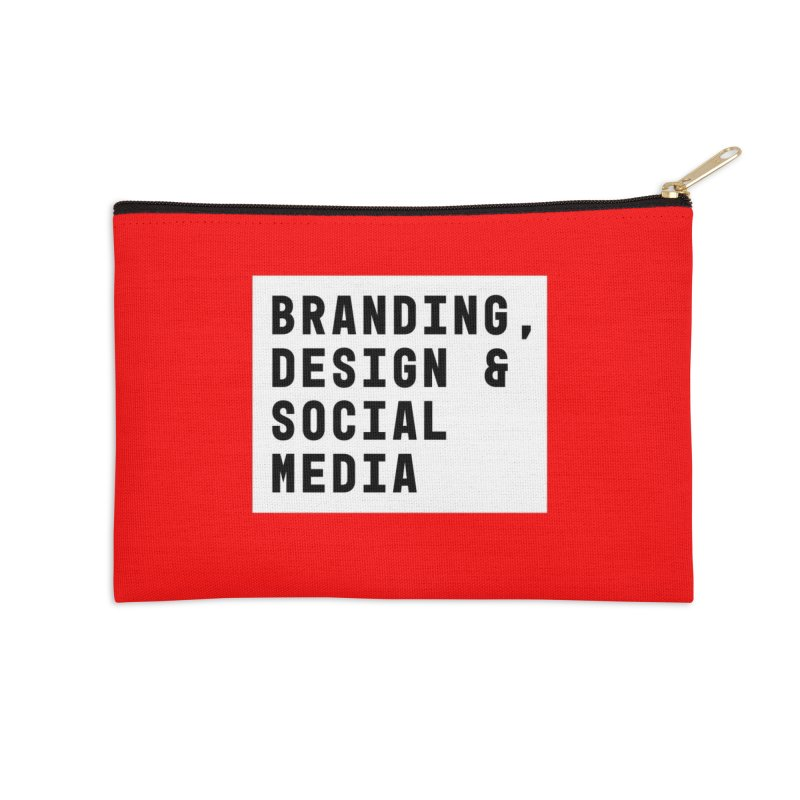 Branding, Design & Social Media Accessories Zip Pouch by Nik Brovkin AKA The Breaks