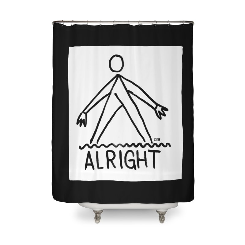 Ok Home Shower Curtain by The Breaks