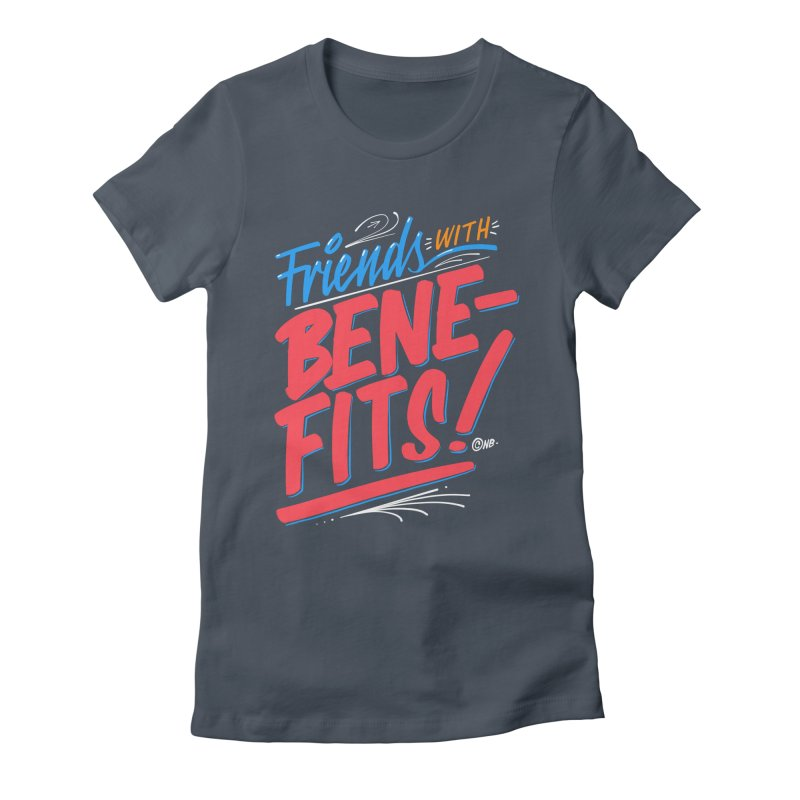 Sign Painter Women's Fitted T-Shirt by The Breaks
