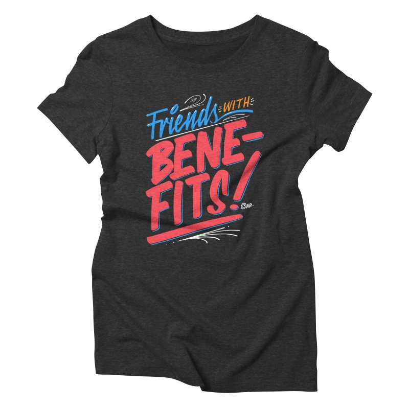 Sign Painter Women's Triblend T-shirt by The Breaks