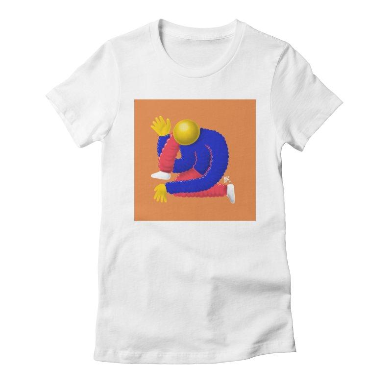 Bubbly Women's Fitted T-Shirt by Nik Brovkin AKA The Breaks