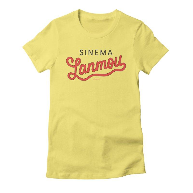 Sinema Lanmou Women's Fitted T-Shirt by Nik Brovkin AKA The Breaks