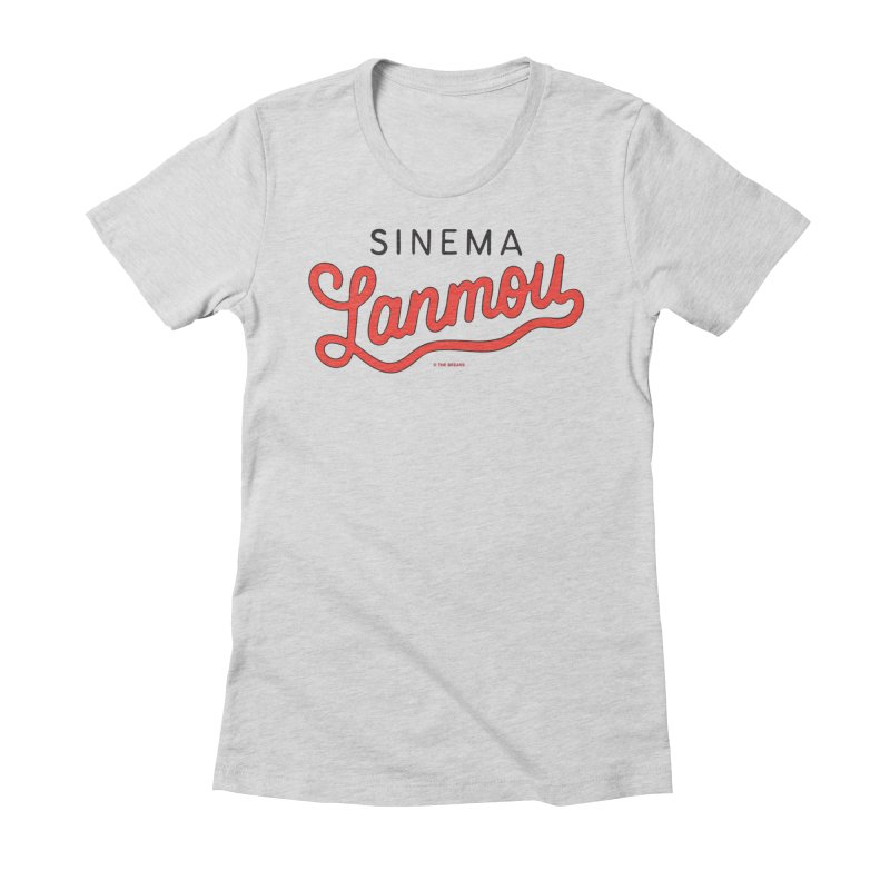 Sinema Lanmou Women's Fitted T-Shirt by The Breaks