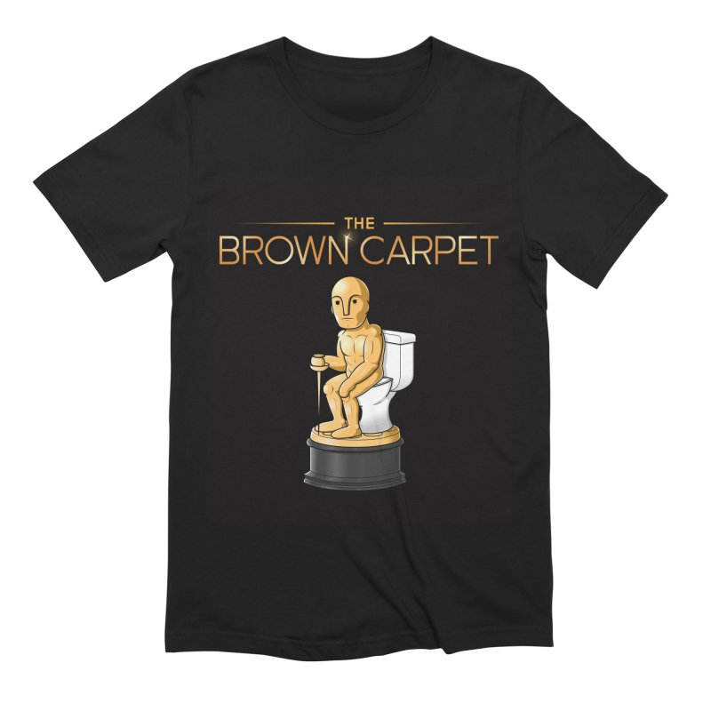 Classic BCP Logo Men's Extra Soft T-Shirt by The Brown Carpet Podcast