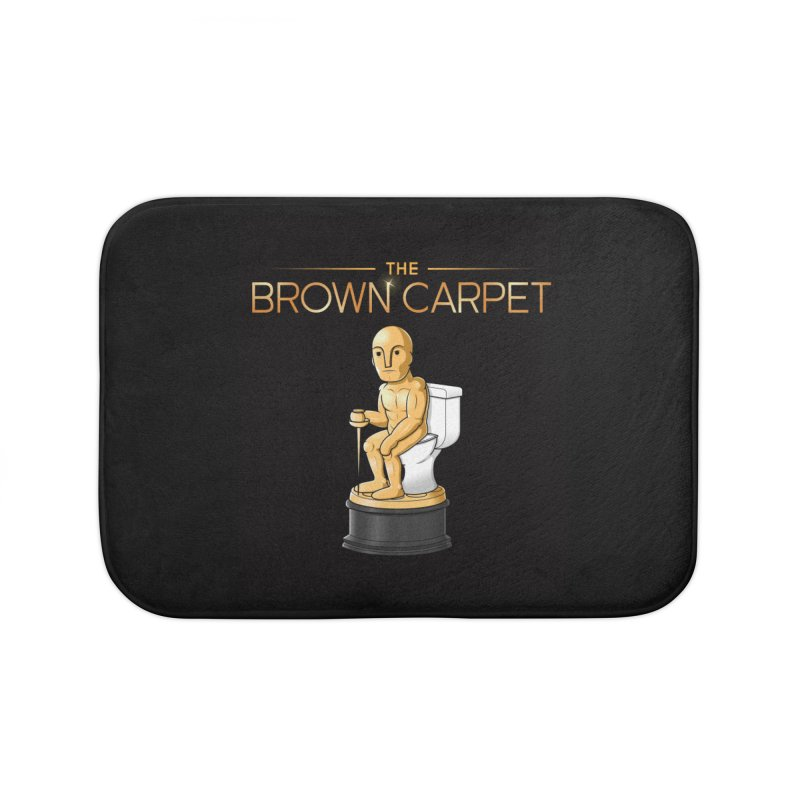 Classic BCP Logo Home Bath Mat by The Brown Carpet Podcast