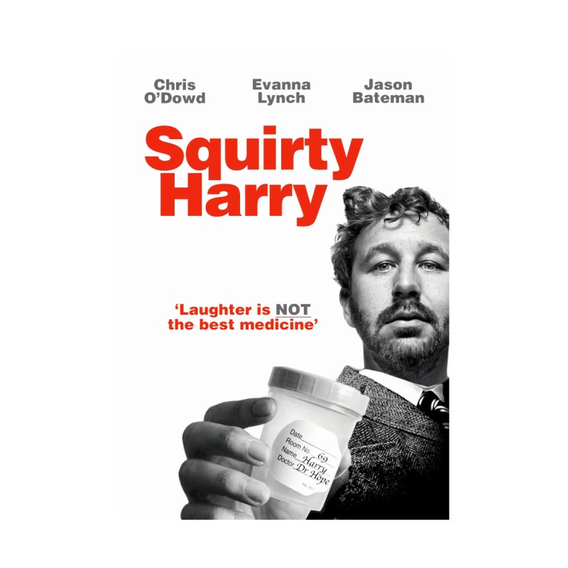 Squirty Harry Poster Men's T-Shirt by The Brown Carpet Podcast