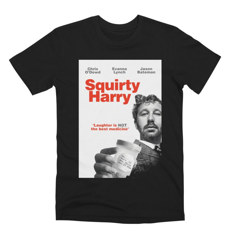 Squirty Harry Poster Men's Premium T-Shirt by The Brown Carpet Podcast