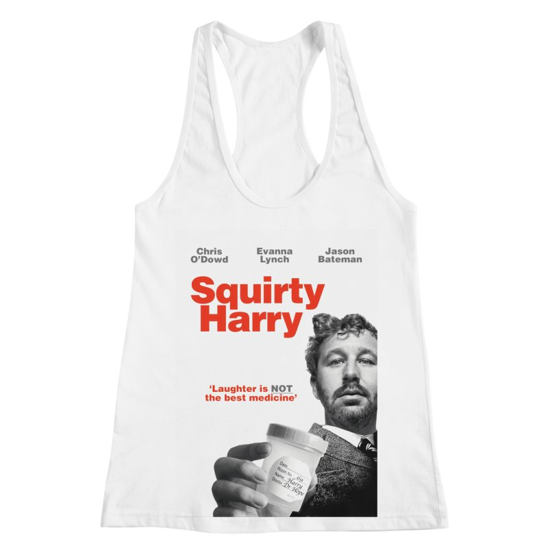 Squirty Harry Poster Women's Racerback Tank by The Brown Carpet Podcast