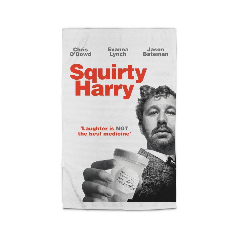 Squirty Harry Poster Home Rug by The Brown Carpet Podcast