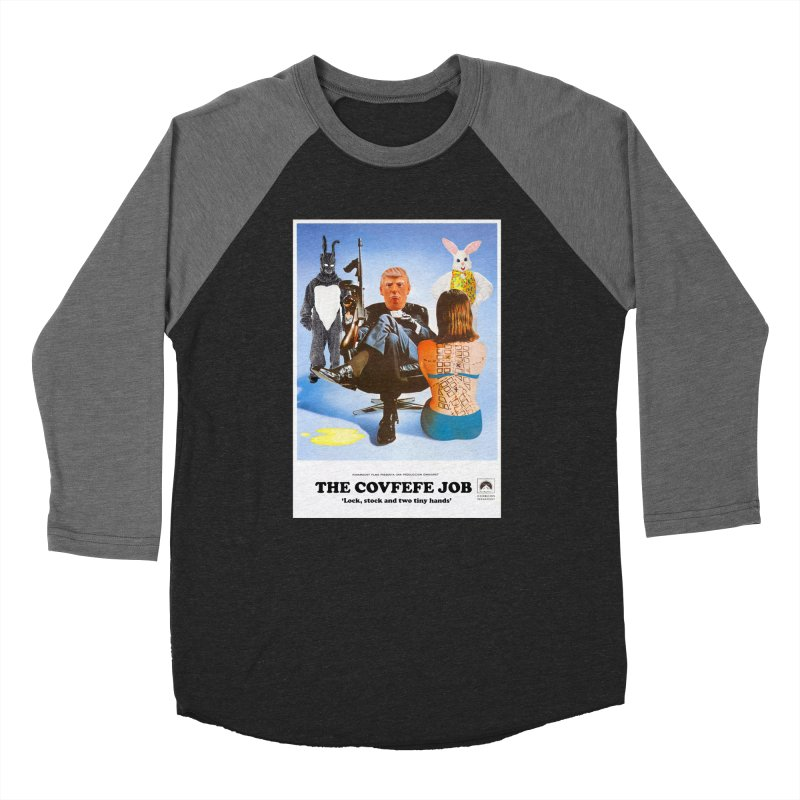 The Covfefe Job Poster Men's Baseball Triblend Longsleeve T-Shirt by The Brown Carpet Podcast