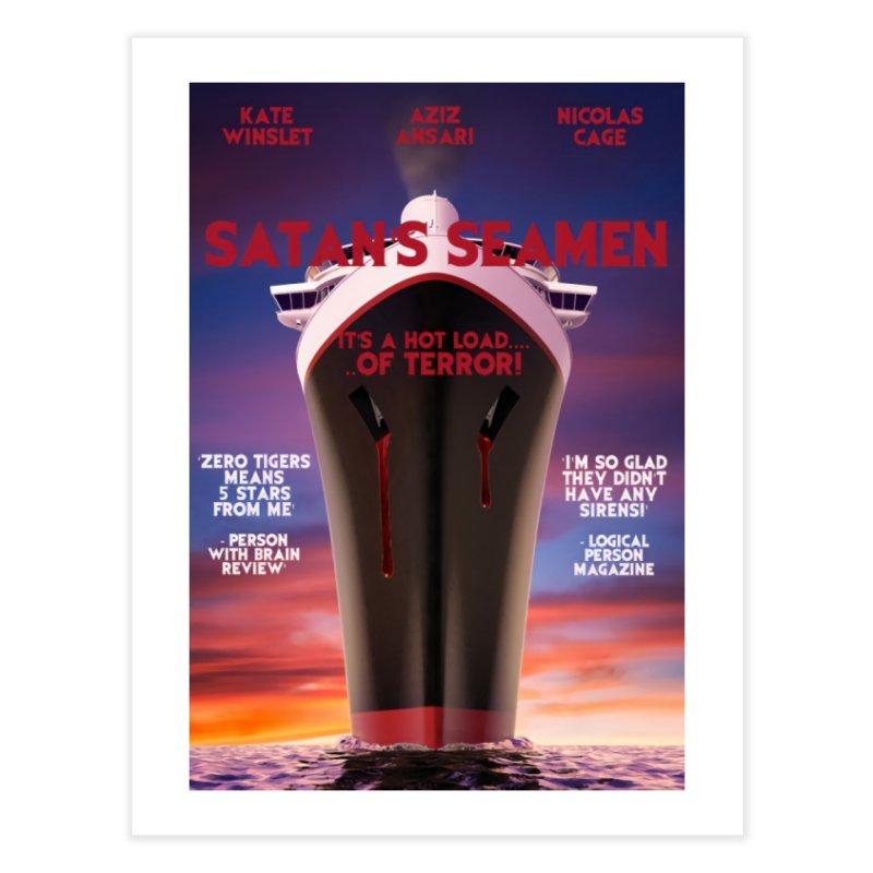 Satan's Seaman Poster Home Fine Art Print by The Brown Carpet Podcast