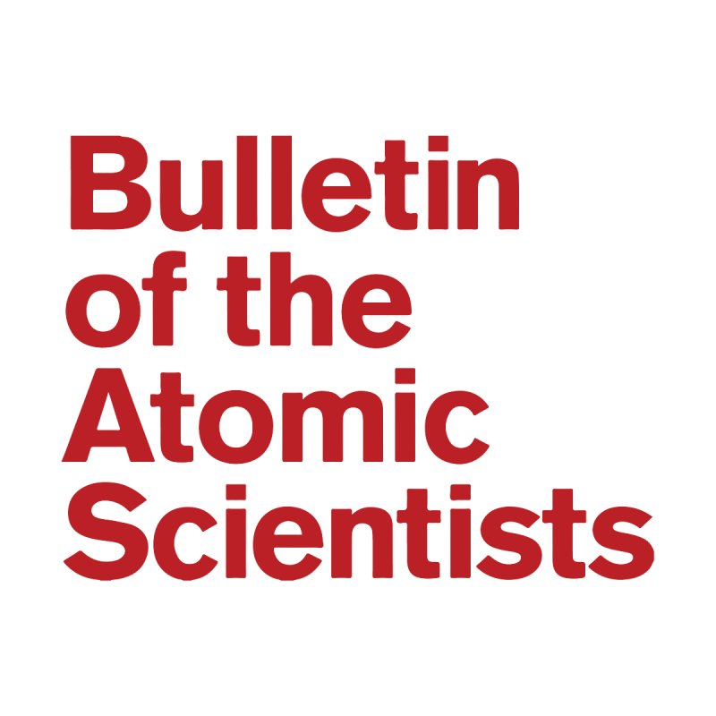 Bulletin of the Atomic Scientists Accessories Magnet by Bulletin of the Atomic Scientists' Artist Shop