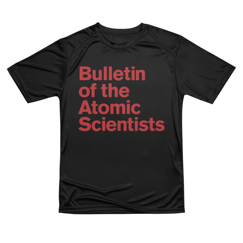 Bulletin of the Atomic Scientists Men's T-Shirt by Bulletin of the Atomic Scientists' Artist Shop