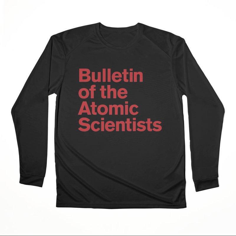 Bulletin of the Atomic Scientists Men's Longsleeve T-Shirt by Bulletin of the Atomic Scientists' Artist Shop