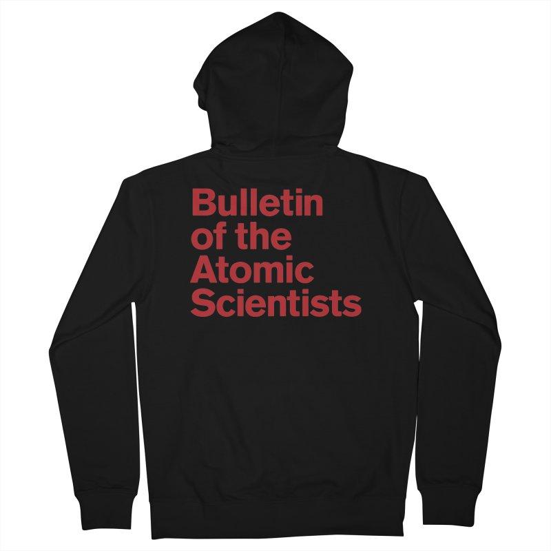 Bulletin of the Atomic Scientists Women's Zip-Up Hoody by Bulletin of the Atomic Scientists' Artist Shop