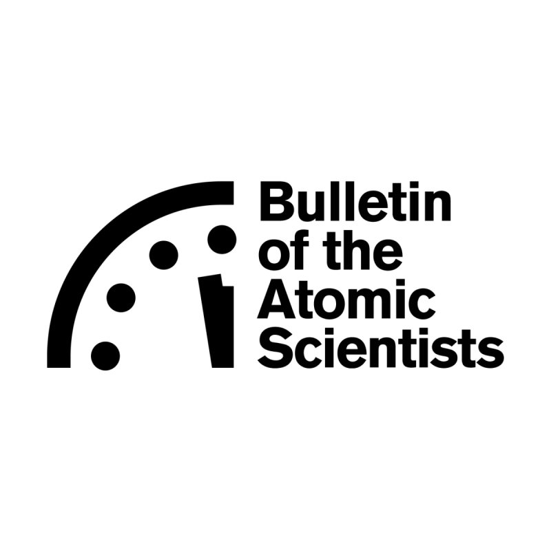 Bulletin of the Atomic Scientists Black Women's V-Neck by Bulletin of the Atomic Scientists' Artist Shop